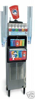 Slush Puppie.  We had one of these machines in elementary school