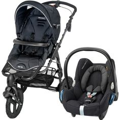 poussette duo Bébé Confort High Trek Cabriofix