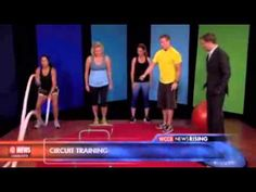 http://www.youtube.com/devanklinefitness Circuit training video with Devan Kline of Burn Boot Camp and Mamaburst