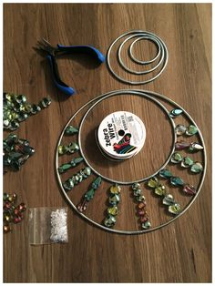 Garden - Wind Chimes DIY Suncatcher Tutorial – Charlotte by Design Solar Lights For Your Garden We a Beaded Crafts, Wire Crafts, Crafts To Make, Jewelry Crafts, Fun Crafts, Arts And Crafts, Crafts For The Home, Decor Crafts, Paper Crafts