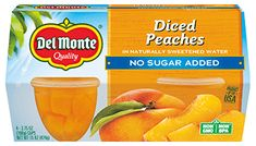 Try a delicious Peach Cobbler Dump Cake recipe from Del Monte. Quick, easy instructions make this Peach Cobbler Dump Cake recipe a breeze. Parfait Recipes, Fruit Recipes, Cooking Recipes, Chef Recipes, Crisp Recipe, Cobbler Recipe, Trifle Recipe, Peach Yogurt Smoothie, Peach Cobbler Dump Cake