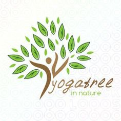 #Yoga #Tree #Power logo