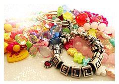 Isabella's pile of treasure <3