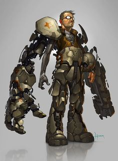 The awesome power of a Battlesuit..!