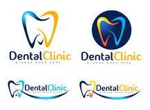 Logotipo dental Fotos de Stock