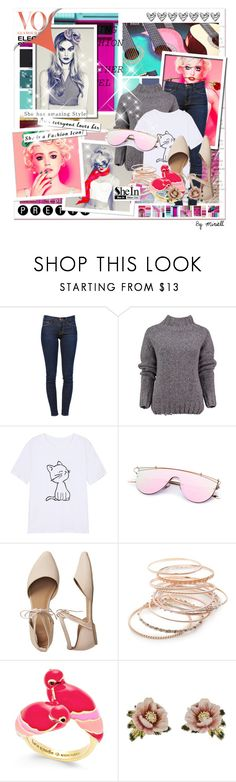 """Untitled #457"" by anonymousleaf ❤ liked on Polyvore featuring Frame, Lowie, Gap, Red Camel, Kate Spade and Les Néréides"