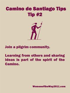 Camino Tip No. 2: Join a pilgrim community | Women of the Way