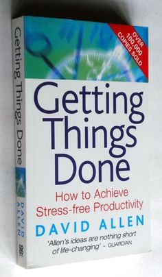 Getting Things Done: How to Achieve Stress-free Productivity Management Books, Stress Free, Getting Things Done, Personal Development, Productivity, Good Books, Reading, Adhd, Career