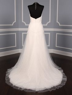 This 100% Authentic, New Anne Barge Camillia Discount Designer Wedding Dress is from the Blue Willow Bride Collection.  The pearls & beads on this gown add the perfect touch of sweetness to this sophisticated design. Now up to 90% Off Retail! #annebarge