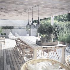 Pergola Terrasse Appartement - Pergola Patio Firepit - Pergola De Madera Quincho - Pergola Attached To House Plans - Outdoor Areas, Outdoor Rooms, Outdoor Dining, Outdoor Decor, Rustic Outdoor, Gazebos, Plafond Design, Patio Interior, Interior Design