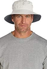 79fb992b344 Coolibar UPF 50+ Men s Reversible Bucket Hat - Sun Protective (XXL-  Stone Carbon