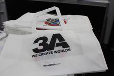 3A bag at #NYTF #booth4858   #threeA #3A #AshleyWood #NY #NYC #toyfair #exhibition #toy #actionfigure #toyplanet #toycommunity #toys #hobby #toycollector #art #collectibles #vinyl #designertoys #toyphoto #toyphotography #collecting #photography #photo #comics #toylife #arttoy #toypops