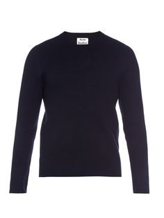 Lang crew-neck knit sweater | Acne Studios | MATCHESFASHION.COM