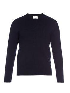 Lang crew-neck knit sweater | Acne Studios | MATCHESFASHION.COM