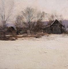 Douglas Fryer - Midwinter - 18x18, Oil on Panel, gallery id #14252