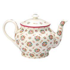GreenGate Teapot Millie White