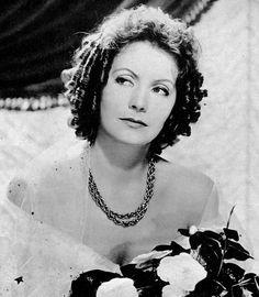 """Greta Garbo en """"La Dama de las Camelias"""" (Camille), 1936"""