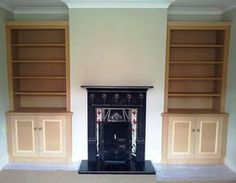 This company make alcove cabinets for you to install yourself!