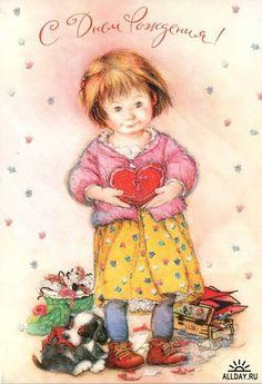 Cards Happy Birthday 2   Открытки - поздравления С днем рождения и днем ангела