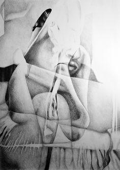Lock me up inside, 2016, 50-70cm, graphite crayon on paper by Oana Unciuleanu. For more wonderful drawings and art novelties, visit www.oanaunciuleanu.com and subscribe to Oana Unciuleanu Art & Architecture on FB. #art #arte #artist #artwork #blackandwhite #creative #drawing #fineart #graphic #illustration #monochrome #myart #pencil #wallart #artsy #composition #amazing #love #epic #beautiful #cool #fun #visualdiary #myart #masterpiece #inspiration #newartwork #femaleartist #modernart