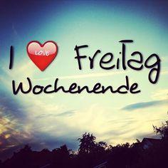 yeeaaahh ... #Freitag ...endlich #wochenende ✌️ ...das haben wir uns verdient oder !?  #friday #weekend  #love #it