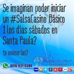 Se imaginan? Te animarías? #Rumbacana #BailaParaDivertirte  #SalsaCasino