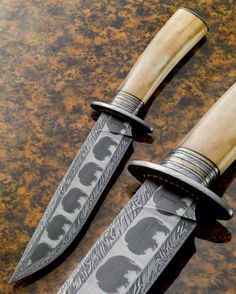 Awesome mosaic damascus knife. Kirk Rexroat, ABS Master Knifemaker