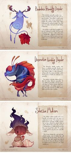 Understand the Monsters: Mental Illness Explained Through The Eyes of an Artist.Beautiful art by Toby Allen