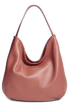 Maple Sugar or Marion Hobo / Tory Burch 'Marion' Hobo available at #Nordstrom