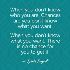 Iyanla Vanzant Quotes - Chances