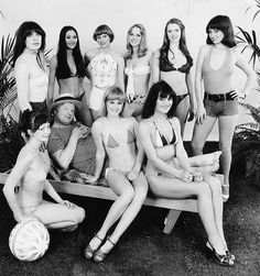 benny hill and his babes