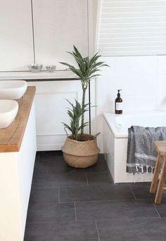 Come arredare il bagno in stile naturale - Piante in bagno