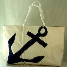 Eco-chic Sea Bags are crafted from recycled sails. seabags.com