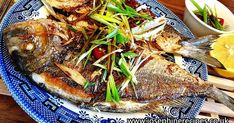 Josephine's Recipes : Pan Fried Sea Bream With Ginger & Green Onion | Chinese Style Pan Fried Fish with Soy Sauce 煎魚不破皮的秘訣 - Josephine's Recipes 143