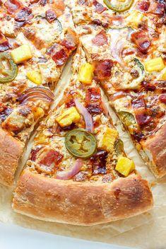 BBQ Bacon Hawaiian Pizza