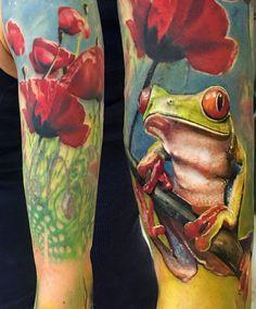 #frog #tattoo