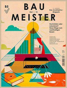 Magazine Wall: portadas de revistas con gran diseño