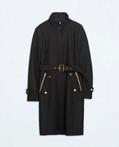 ZARA - WOMAN - ZIP POCKET COAT