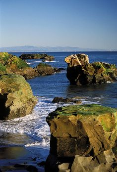The Coast near Santa Cruz - I will always love Santa Cruz.