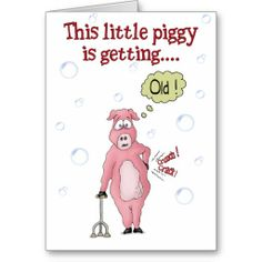 =>>Save on          	Funny Birthday Cards: This little piggy           	Funny Birthday Cards: This little piggy lowest price for you. In addition you can compare price with another store and read helpful reviews. BuyReview          	Funny Birthday Cards: This little piggy please follow the lin...Cleck Hot Deals >>> http://www.zazzle.com/funny_birthday_cards_this_little_piggy-137952718623338831?rf=238627982471231924&zbar=1&tc=terrest