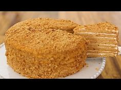 Medovik – Russian Honey Cake Recipe – All Recipes Food Cooking Network Russian Honey Cake, Sour Cream Frosting, Desserts Around The World, Mango Cheesecake, Creamed Honey, Crepe Cake, Tiramisu Cake, Russian Recipes, Pastry Cake