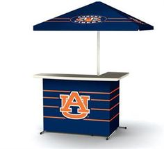 Take It With You! Our Auburn portable bar is the perfect tailgating bar! (Of course it's great for home-gating too) Extremely simple setup o...