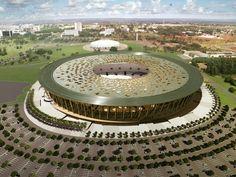 Estádio Nacional de Brasília, Brasília, Brazil. elonearth.com