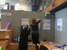 Setting up at Gloucestershire Business Show, Cheltenham Racecourse. May 2015.