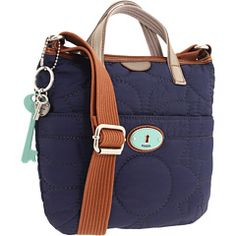 Fossil - Key-Per Crossbody. picked up this adorable little guy at dillards today for 50% off :D i love the teal key/hole detail