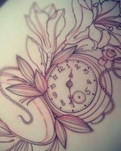 Pocket Watch Tattoo   Tattoo Ideas Central