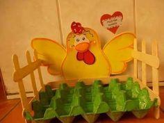 Mi Fiesta Creativa: Crea unas lindas gallinas porta huevos para tu coc...