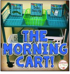 Glitter in Third: The Morning Cart!