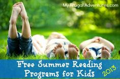 Free Summer Reading Programs for Kids 2013