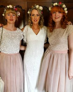 One of our lovely boho bridal parties Hair & Make up Wedding Hair and Makeup Artists http://weddinghairandmakeupartists.com/